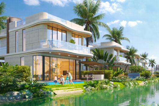 Detached Villa và phong thái nghỉ dưỡng Italy trên cung đường resort triệu đô