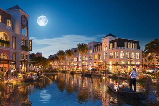 Shophouse phong cách Italy: Sắc màu thương mại mới của thị trường Hồ Tràm – Bình Châu